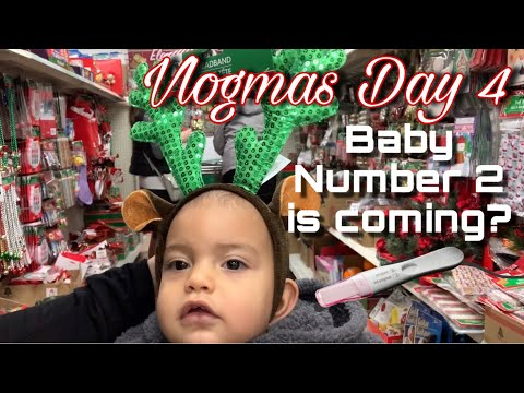 Vlogmas Day 4 | Baby Number 2?! We took a Pregnancy Test!
