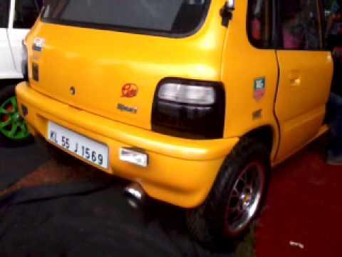 Maruti Suzuki Zen Custom Exhaust Loud Sound Youtube