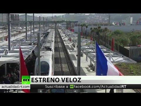 RT en Español: Se estrena el primer tren de alta velocidad de África