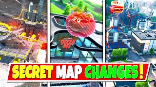 *NEW* ALL SEASON 9 SECRET MAP CHANGES IN FORTNITE! NEW LOCATIONS & MAP INFO!: BR