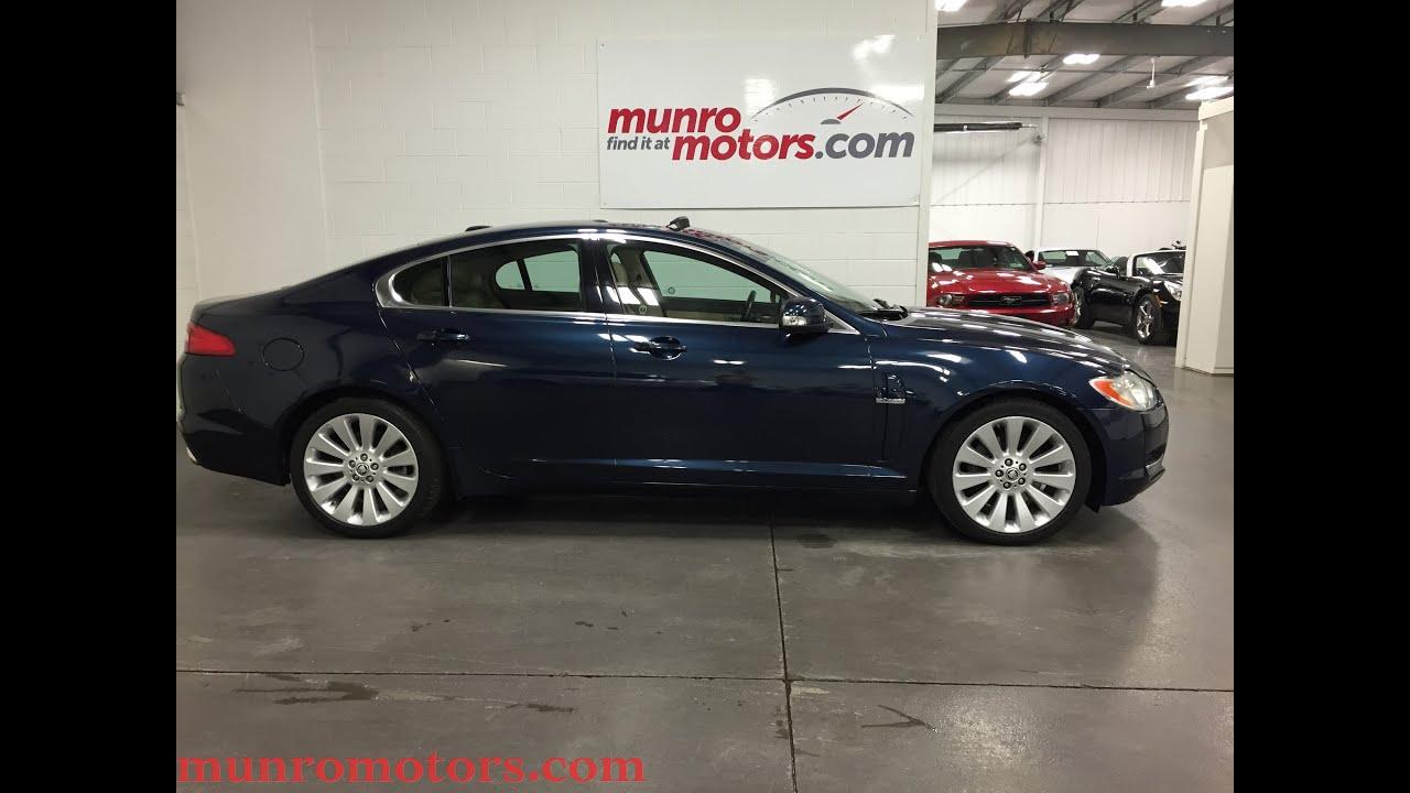 2009 Jaguar XF Premium Luxury SOLD Munro Motors