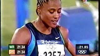 Women's 200 Meters Final - 2000 Sydney Olympics Track & Field