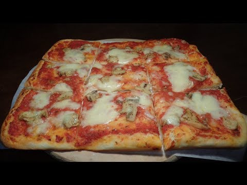 LA PIZZA FATTA IN CASA, LEGGERA CON POCO LIEVITO - Ricetta Perfetta