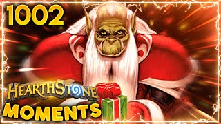 It's The MOST WONDERFUL Time Of The Year | Hearthstone Daily Moments Ep.1002