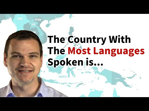 What Country Has the Most Languages Spoken?
