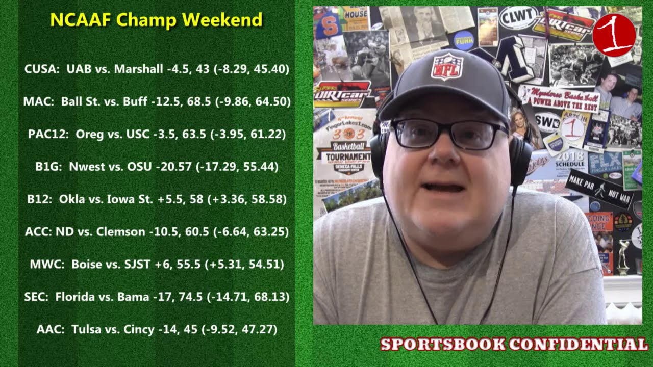 SPORTSBOOK CONFIDENTIAL: Big sports weekend with NFL & college football championships (podcast)