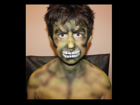 hulk makeup bodypaint how to airbrush makeup face body. Black Bedroom Furniture Sets. Home Design Ideas