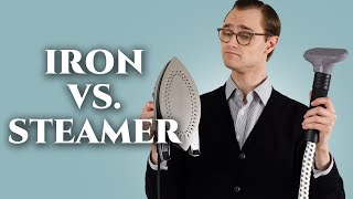 Iron vs. Steamer: Which is Best for Your Menswear Wardrobe?