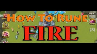 YDCB Summoners War - How To Rune (Fire) November
