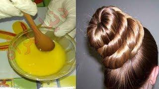 أقوي خلطة لتطويل الشعر ضعيها لشعرك 15 دقيقة ولن يتوقف عن النمو كمان بتفرد الشعر من أول استعمال رووعة