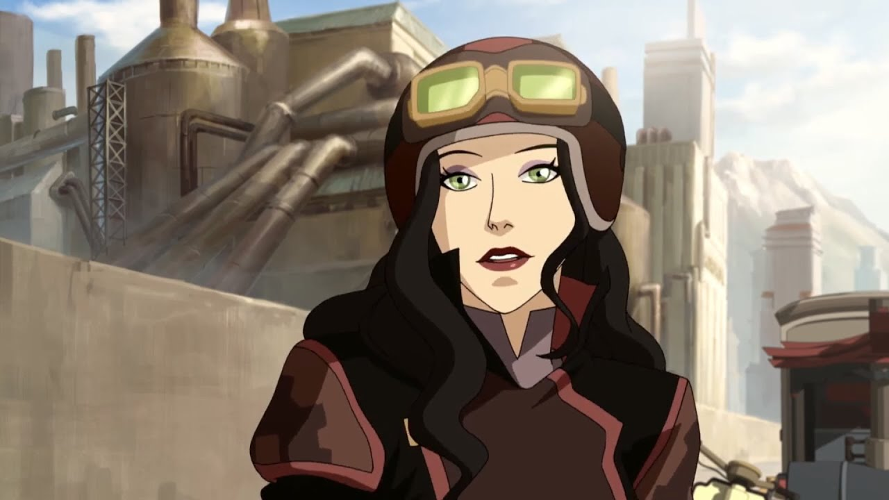 Legend Of Korra Discussion Asami Sato Equalist Amon S Spy