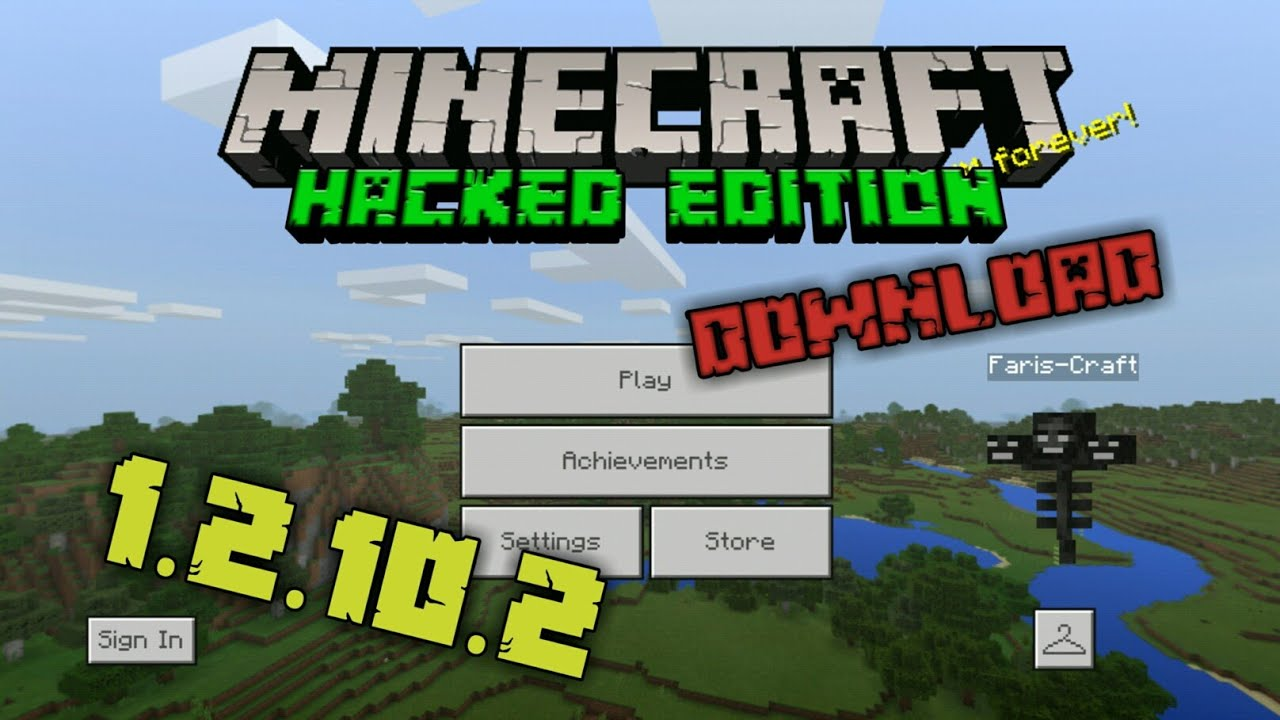 MCPE 1 2 10 2 Hack Mod All (Unlocked) Download by Faris-Craft