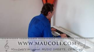 Never Gonna Give You Up (Rick Astley) - Original Piano Arrangement by MAUCOLI
