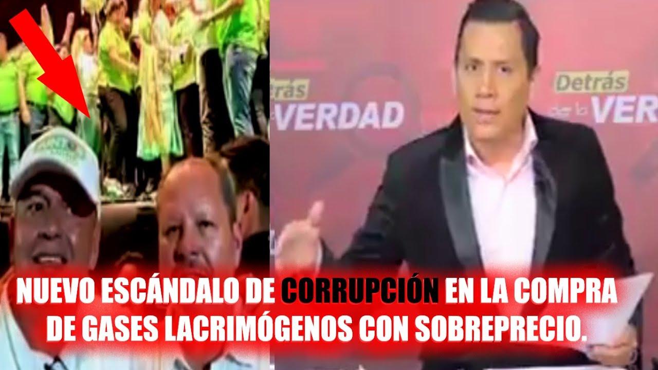 Bolivia corrupción | Compra de Gases lacrimógenos con un ...