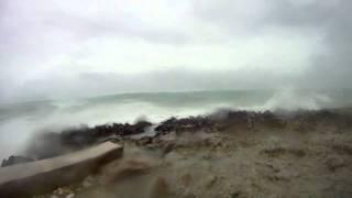 Hurricane Irene 2011, Bahamas 3pm 25th August
