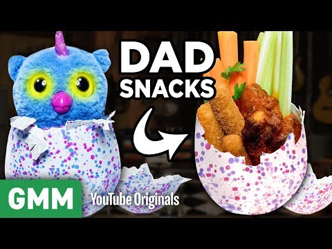 Testing the Hatchimal for Dads
