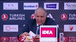 Željko Obradović Oštro Kritikovao Svoje Igrače Zbog Poraza od Zvezde   SPORT KLUB KOŠARKA