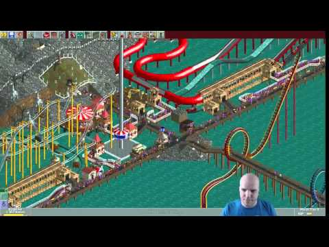 Rollercoaster Tycoon scenario #21: Crater Lake