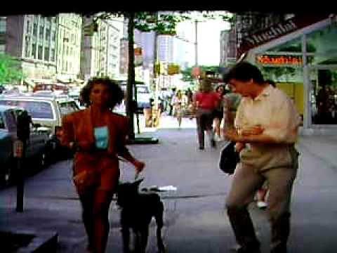 The Pick-up Artist (1987, James Toback) Doberman dog scene .AVI