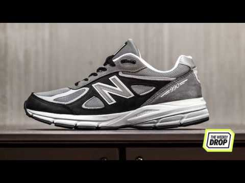 buy popular f9aab b2b08 The Weekly Drop: New Balance 990 V4