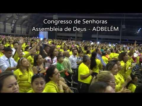 Sarah Farias no Congresso de Mulheres da ADBelém