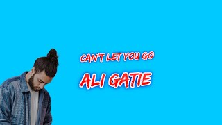 Can't let you go- Ali Gatie (Lyric)