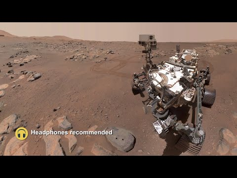 NASA's Perseverance Rover Captures the Sounds of Mars