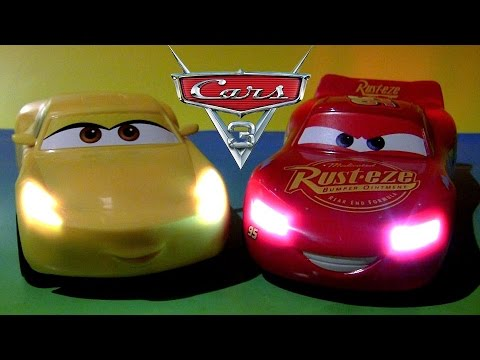 Cars 3 Talking Cruz Ramirez And Lightning Mcqueen Youtube