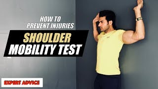 Shoulder Mobility TEST - How to prevent Shoulder injuries (EXPERT ADVICE) by Guru Mann