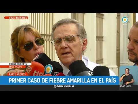 Primer caso de fiebre amarilla en Argentina | #TPANoticias