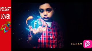 PICSART EDITING BEST EASY FACEBOOK GLOW LOW KEY MANIPULATION STEP BY STEP ALON BOY picsart tutorial