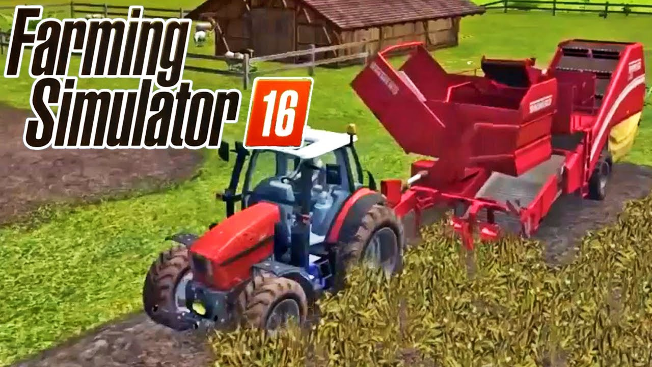 how to download farming simulator 16 android youtube. Black Bedroom Furniture Sets. Home Design Ideas