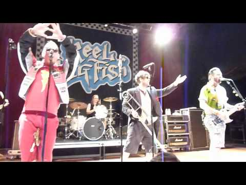 Tequila/Red, Red Wine/Beer - Reel Big Fish @ House Of Blues - 26/07/2012