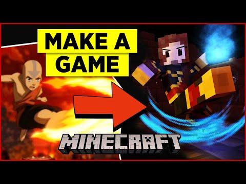 How to make a Minecraft Map: Avatar Firebending