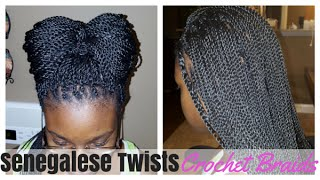 Senegalese Twist on Crochet Braids (Quick Tutorial)
