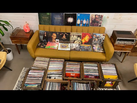 I Bought a HUGE Collection of NEW Vinyl Records! Rock, Hip-Hop, Modern, Punk, Pop and more!