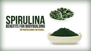 Benefits of Spirulina for Bodybuilding | Top Protein source for Vegans...