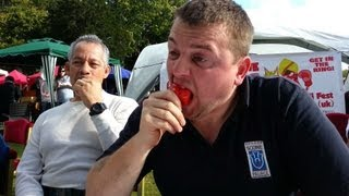 Chilli Eating Contest |  Scottish Chilli Festival | Scone Palace | Sunday 2013