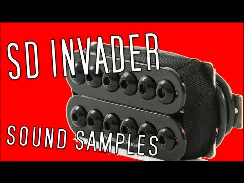 Seymour Duncan Invader: Sound Samples