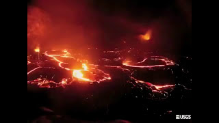 Kilauea's Pu'u O'o Crater Collapses | Video