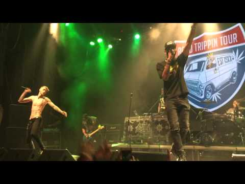 Machine Gun Kelly - Mind Of A Stoner (Live, Moscow, 2015)