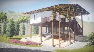 casa embera katio moderna