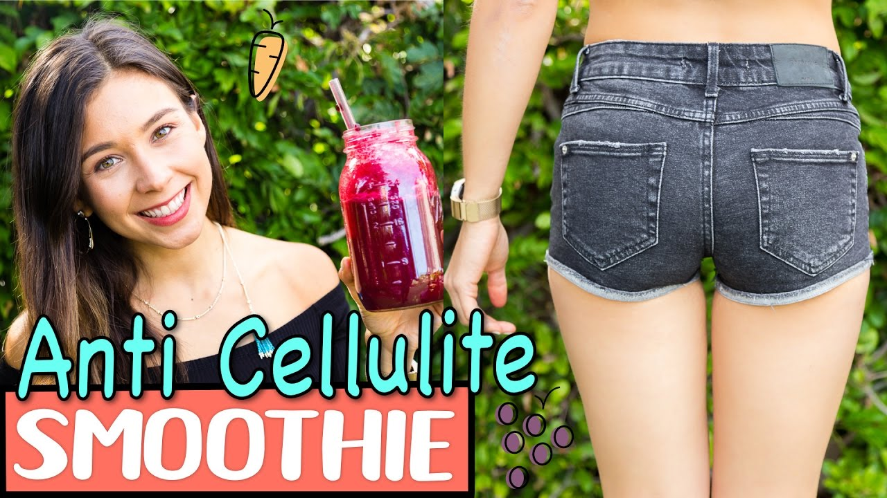 smoothie to get rid of cellulite youtube. Black Bedroom Furniture Sets. Home Design Ideas