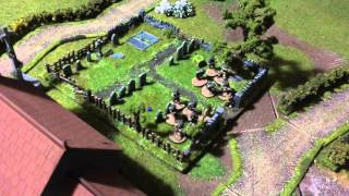 Bolt action battle report 1000 points Germany vs US Airborne