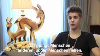 BAMBI Preisträger Justin Bieber unterstützt TRIBUTE TO BAMBI Stiftung