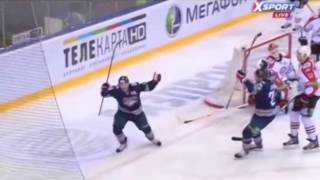 Голы Сергея Мозякина в регулярном сезоне 2013/14