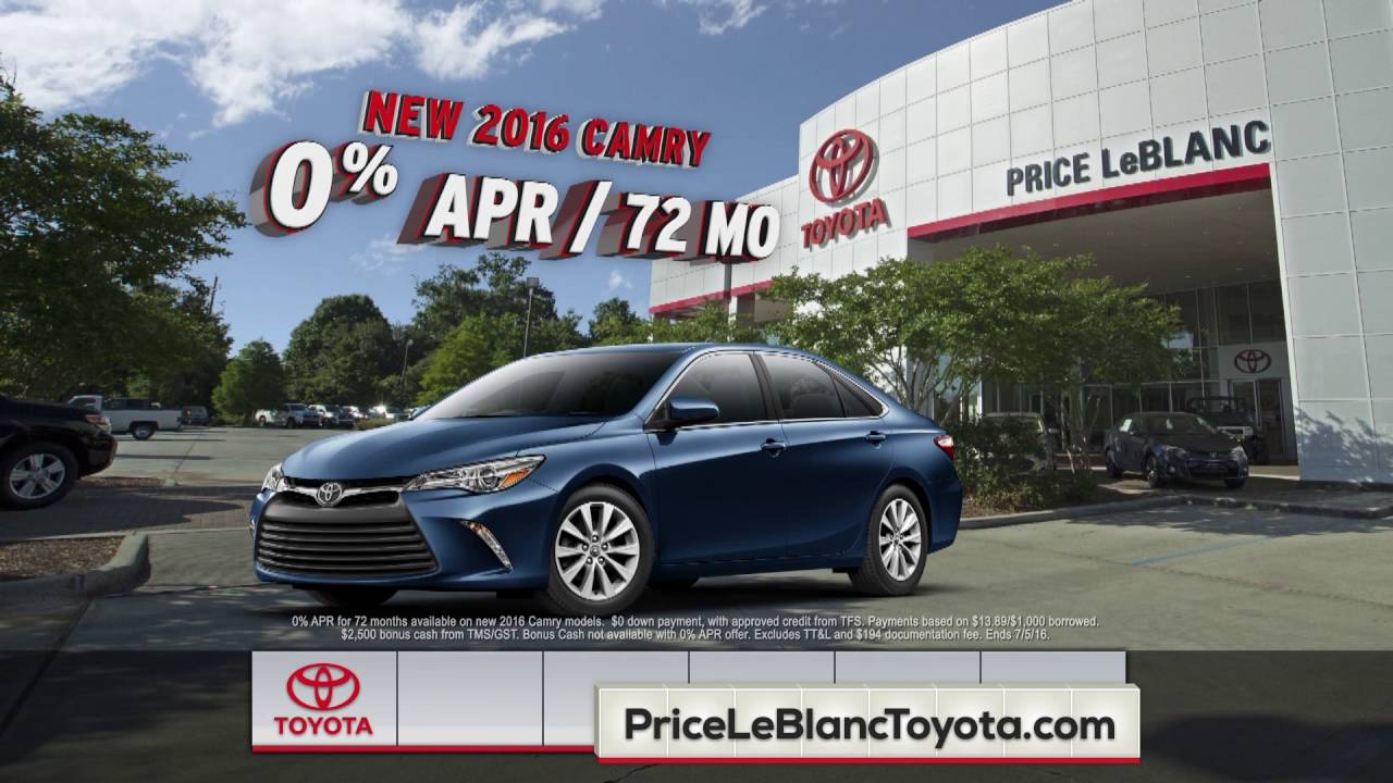 Good Price LeBlanc Toyota   Price Sells   Camry Specials   YouTube