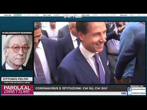 VITTORIO FELTRI: CORONAVIRUS IN ITALIA GESTITO IN MANIERA COMICA. BORRELLI SPARA COSE A CASO