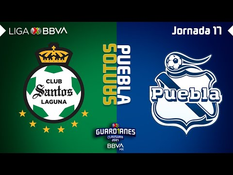 Santos Laguna Puebla Goals And Highlights