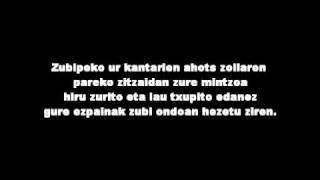 Hertzainak - Zoratzen naizela